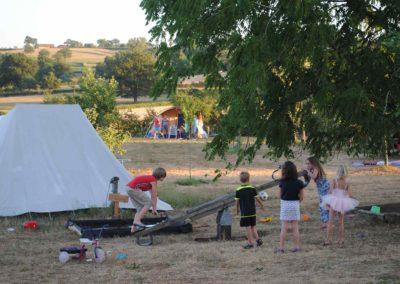 Spelen op camping Brénazet