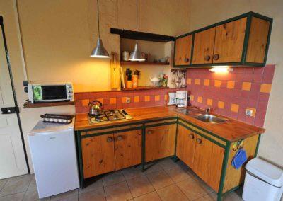 Vakantiehuis la Source, keuken