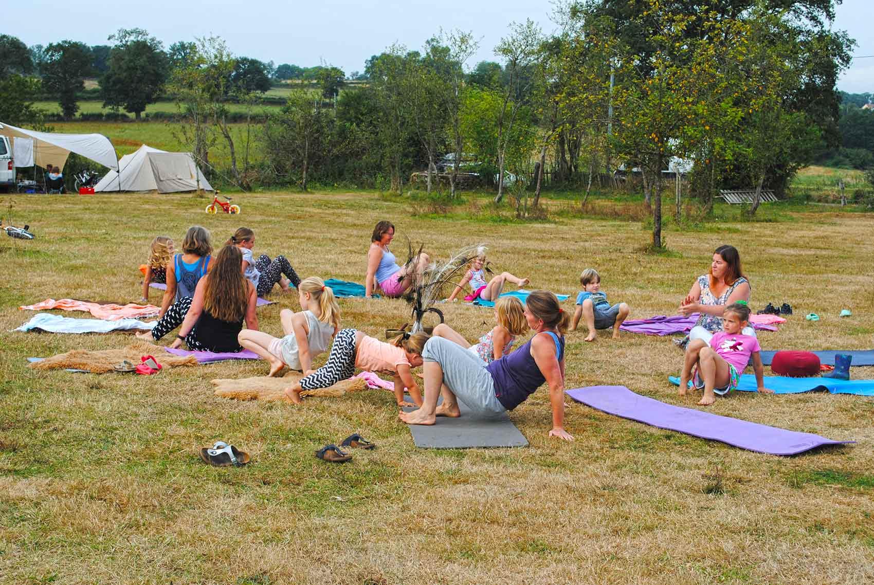 Yoga met Mariken